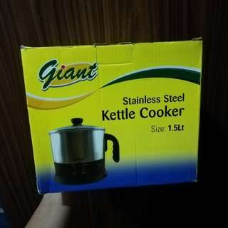 Giant Stainless Steel Electric Cooker