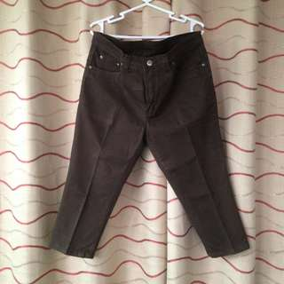 Size 31 Brown Capri Pants (TOKONG)