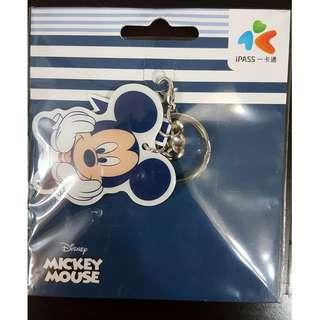 全新 台灣 DISNEY MICKEY MOUSE 米奇 IPASS 造型一卡通 悠遊卡, $105 (包順豐店取)
