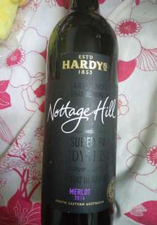 Estd hardys nottage hill merlot