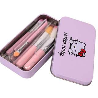 BRAND NEW HELLO KITTY MAKE UP BRUSH SET