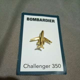 Pin Collection - Bombardier Challenger 350