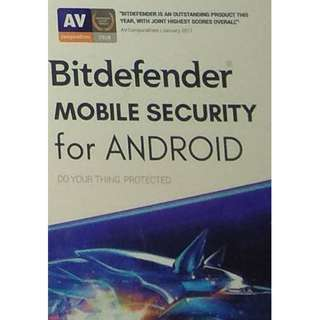 Bitdefender Mobile Security - 1 Device 1 Year (Android)