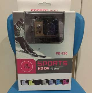 Kudos Action Camera FB-720 Gold