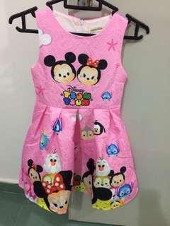 Tsum tsum dress 6t