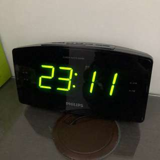 Prelove Philips Digital Radio Clock
