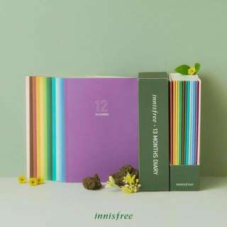 Innisfree 13 Months Diary
