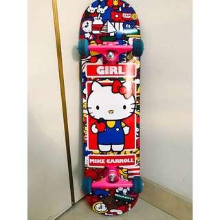 Girl X Hello Kitty限量聯名正版技術板