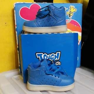 Tough Kids Blue Highcut Kicks