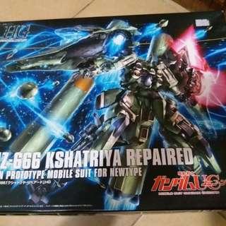 《全新》Bandai Gundam HG 179 NZ-666 KSHATRIYA 高達UC 剎帝利維修版 (最後降價)