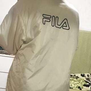 90s White Fila Jacket