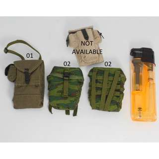 1/ 6 DAM TOYS VDV MO POUCHES (PLEASE READ NOTES/ TERMS & CONDITIONS APPLY)