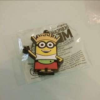 全新 Minions 壞蛋獎門人小小兵 Character Keychain 一個