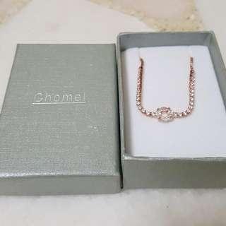 Chomel Rose Gold Bracelet