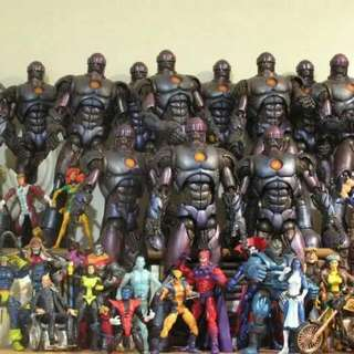 Marvel Legends Sentinels Complete with Tentacles $250 Each.