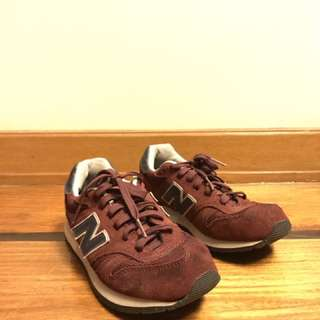 Maroon New Balance 1500 Sneakers