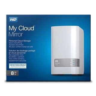 WD 8TB My Cloud Mirror Personal Network Attached Storage