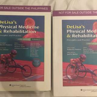 DeLisa's Physical Medicine and Rehabilitation Principles and Practice 5th Edition Volume 1 & 2