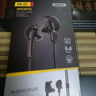 New Remax Sport Bluetooth Earphones