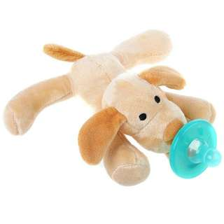 Pacifier animal toy