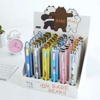 WE BARE BEARS PEN