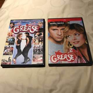 Grease & Grease 2 DVD