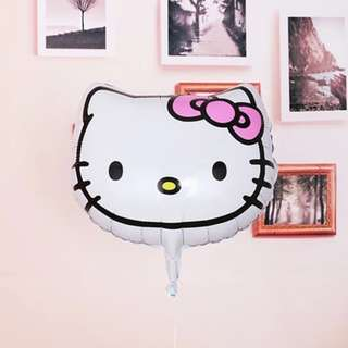 Hello Kitty Face / Head Foil Balloons 45 x 46cm