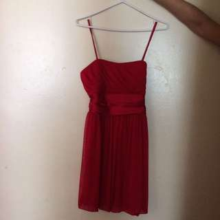 Red Semi Formal Dress