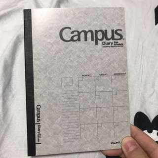 Campus monthly/yearly schedule book
