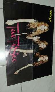 Teenage Poster (SNSD Tae Ti Seo)