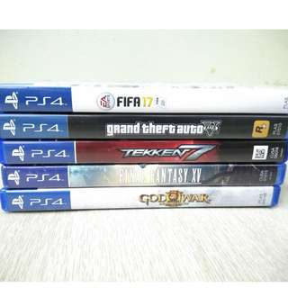 Second hand ps4 games