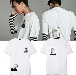 G-DRAGON PATCHED T-SHIRT