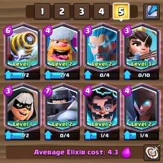 Clash Royale Account ! ( Lowest Price !! )