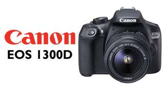 Canon EOS 1300D 18-55mm kit