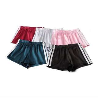 Running stripe short