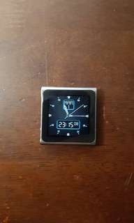 iPod Nano 6 16gb and accessories