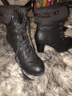 NEW winter high heel booties