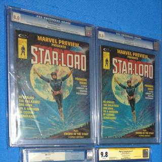 Marvel Comics 1st Starlord Marvel Preview 4