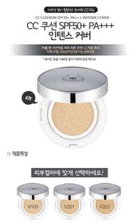THEFACESHOP CC Intense Cover Cushion in V203 Natural Beige