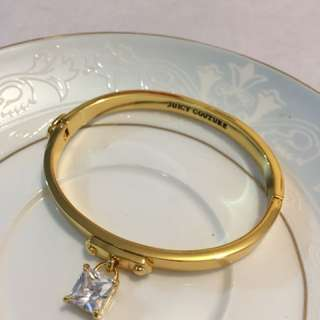 Juicy Couture 方型吊石手鐲 Bangle
