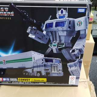 takaratomy masterpiece transformers 7-11 mp10 white optimus prime in stock
