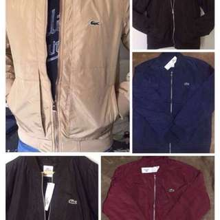 Authentic Lacoste Jackets ❤️