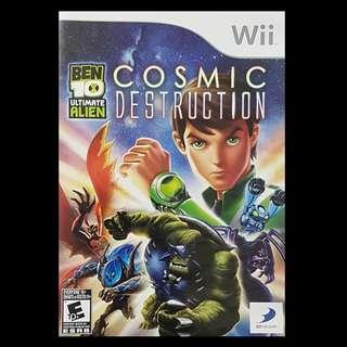 Ben 10 Ultimate Alien Cosmic Destruction Nintendo Wii