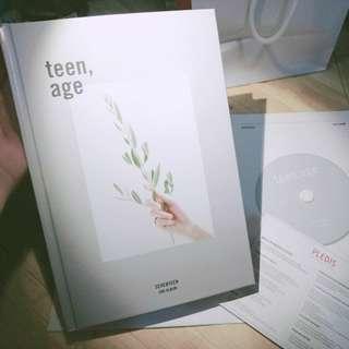🚚 [空專]Seventeen×Teen age(白專) (內附折疊海報)