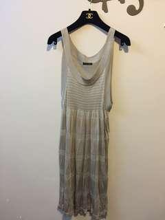 日本灰色長裙