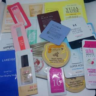 TAKE ALL Korean Skincare Samplers AUTHENTIC