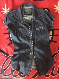GUESS Denim Top L14