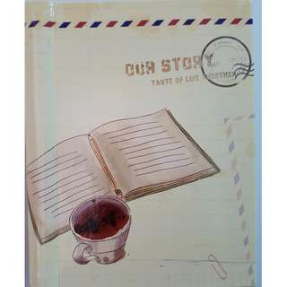 Our Story Taste of Life Together Notebook