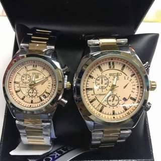 Couple watchs