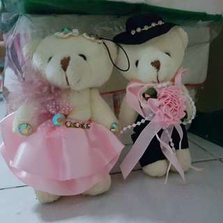 Couple bear keychi